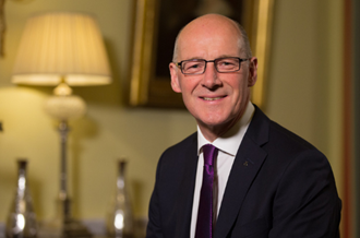 John Swinney, Deputy First Minister of Scotland and Cabinet Secretary for Education and Skills headshot