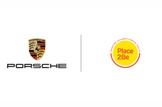 Porsche and Place2Be logos
