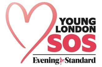 Place2Be x The Evening Standard Young London SOS Appeal Logo