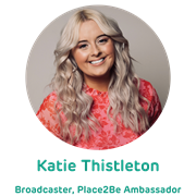 Katie Thistleton, Broadcaster and Place2Be Ambassador