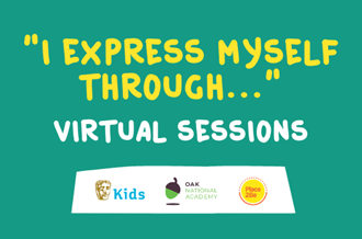 I Express Myself Through... virtual sessions
