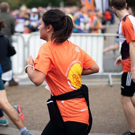 Runners at Royal Parks Half Marathon