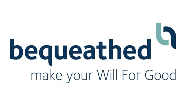 Bequeathed make your Will For Good logo